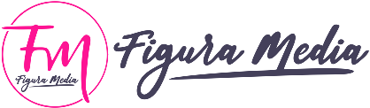 Figura Media – Marka Marketing Media Logo